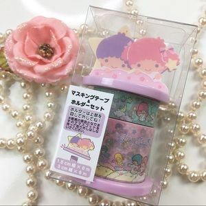 Sanrio Little Twin Stars Washi Tapes set limited
